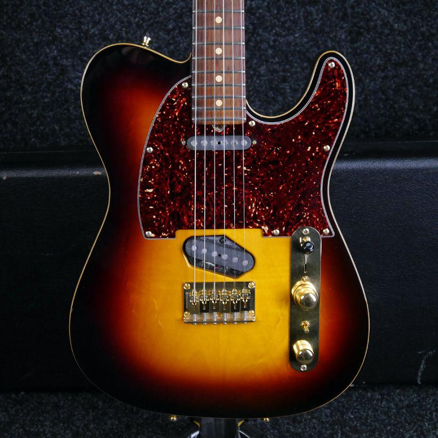 Tom Anderson T Classic - Sunburst w/ Hard Case - 2nd Hand