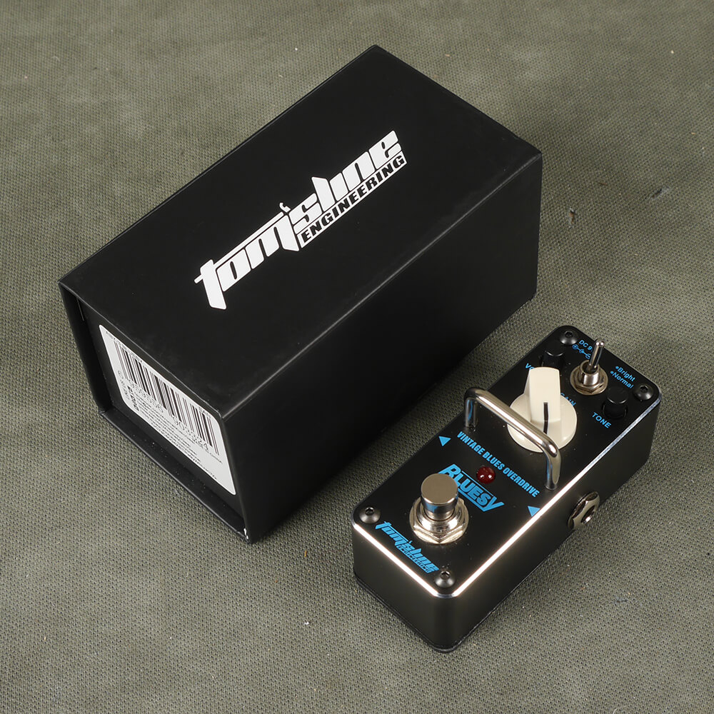 Tomsline ABY-3 Bluesy Overdrive FX Pedal w/Box - 2nd Hand