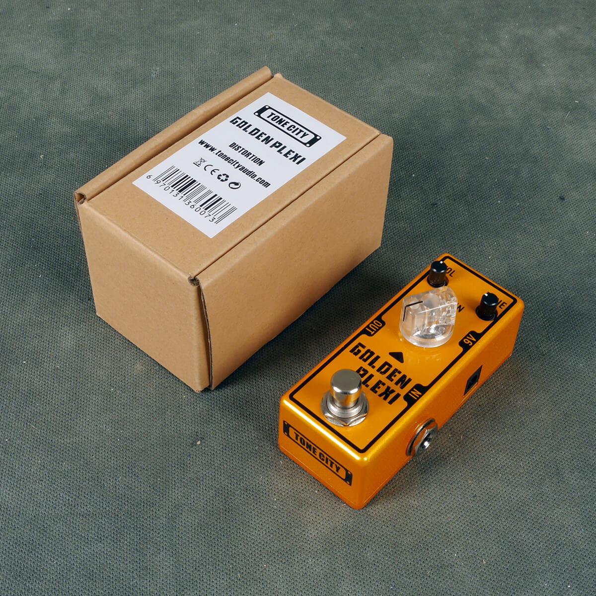Tone City Plexi Overdrive FX Pedal w/Box - 2nd Hand