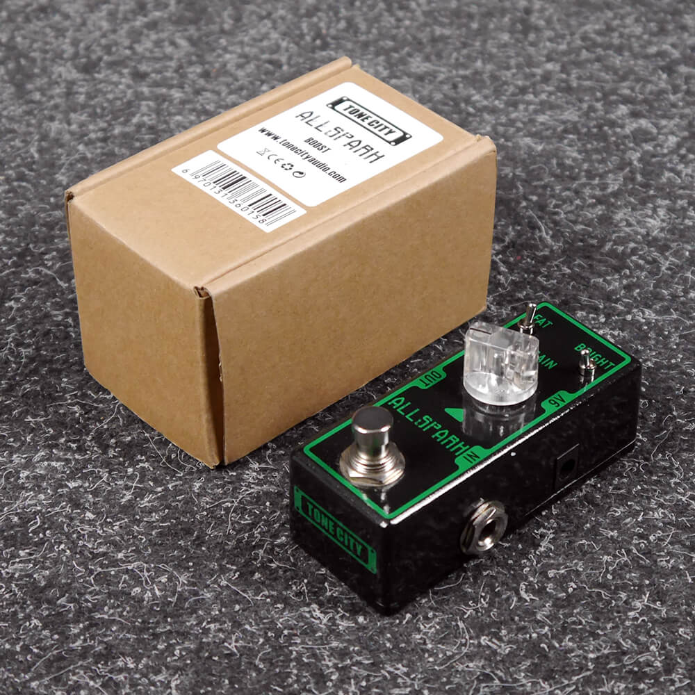 Tone City All Spark Boost FX Pedal w/Box - 2nd Hand