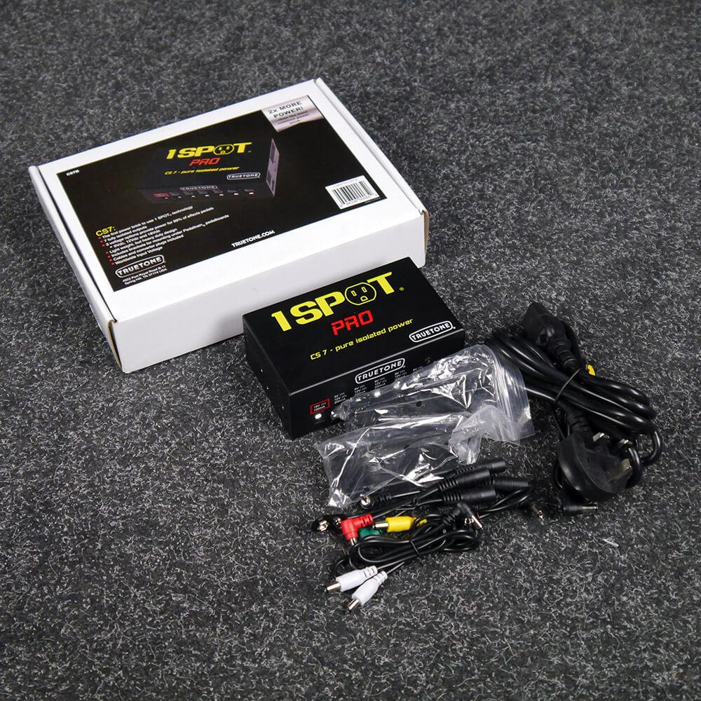 Truetone 1Spot Pro CS7 Power Supply w/Box & PSU - 2nd Hand