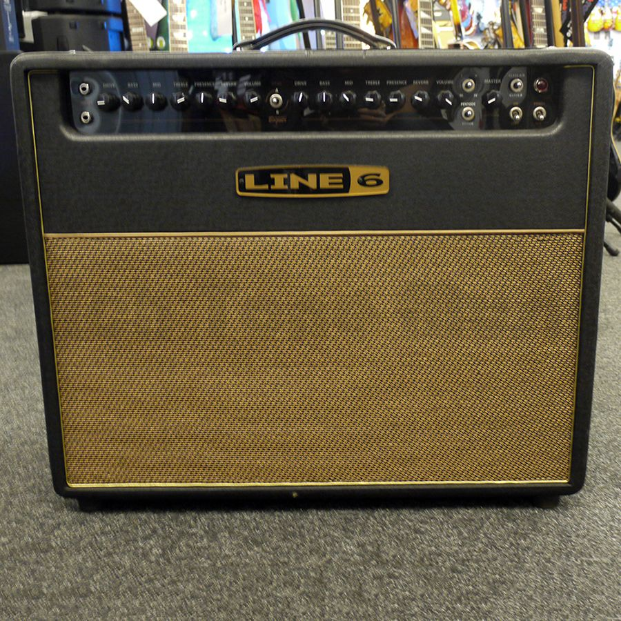line 6 dt50 bogner 112 tube combo amp 2nd hand rich tone music. Black Bedroom Furniture Sets. Home Design Ideas