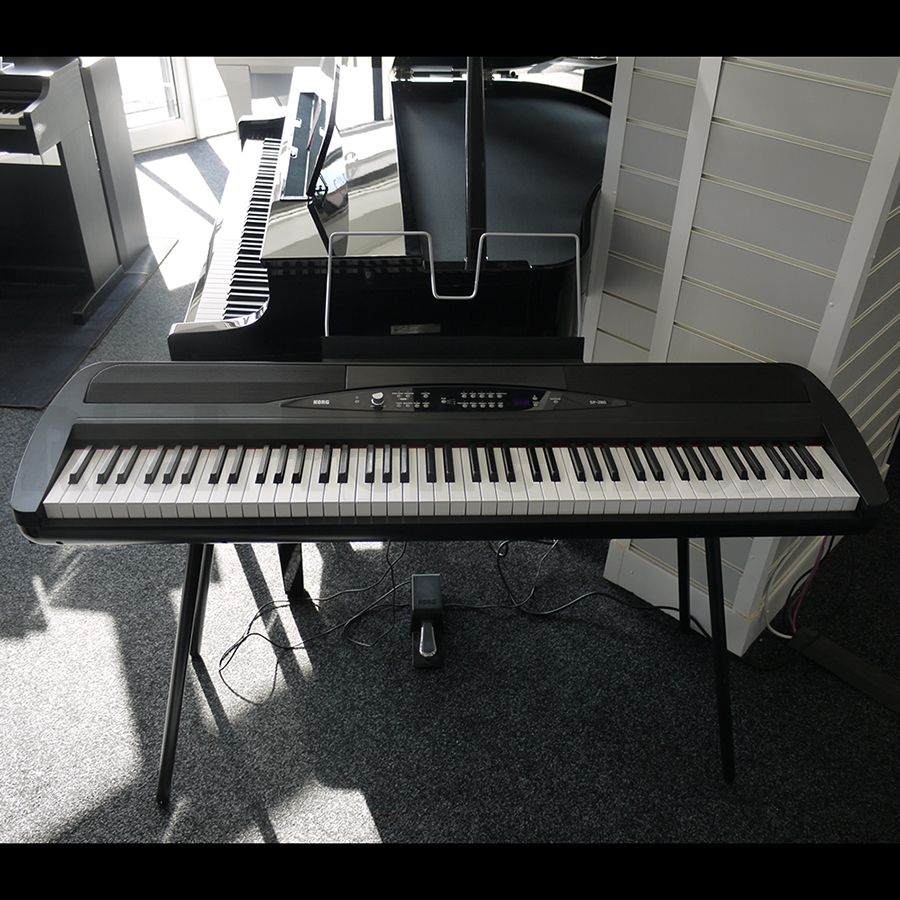 korg sp 280 digital stage piano w stand pedal 2nd hand rich tone music