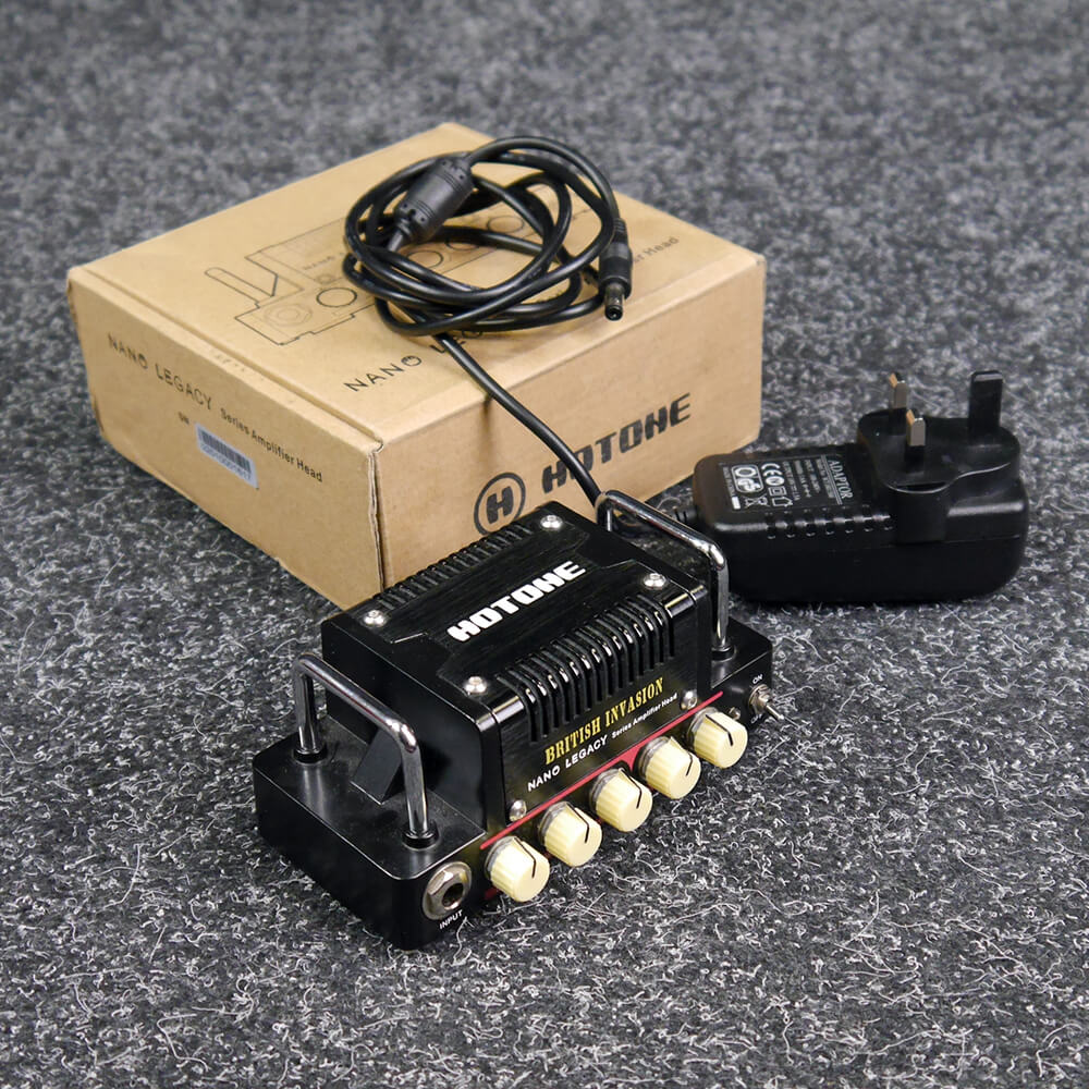 Hotone Nano Legacy Amp Head - British Invasion w/Box & PSU - 2nd Hand