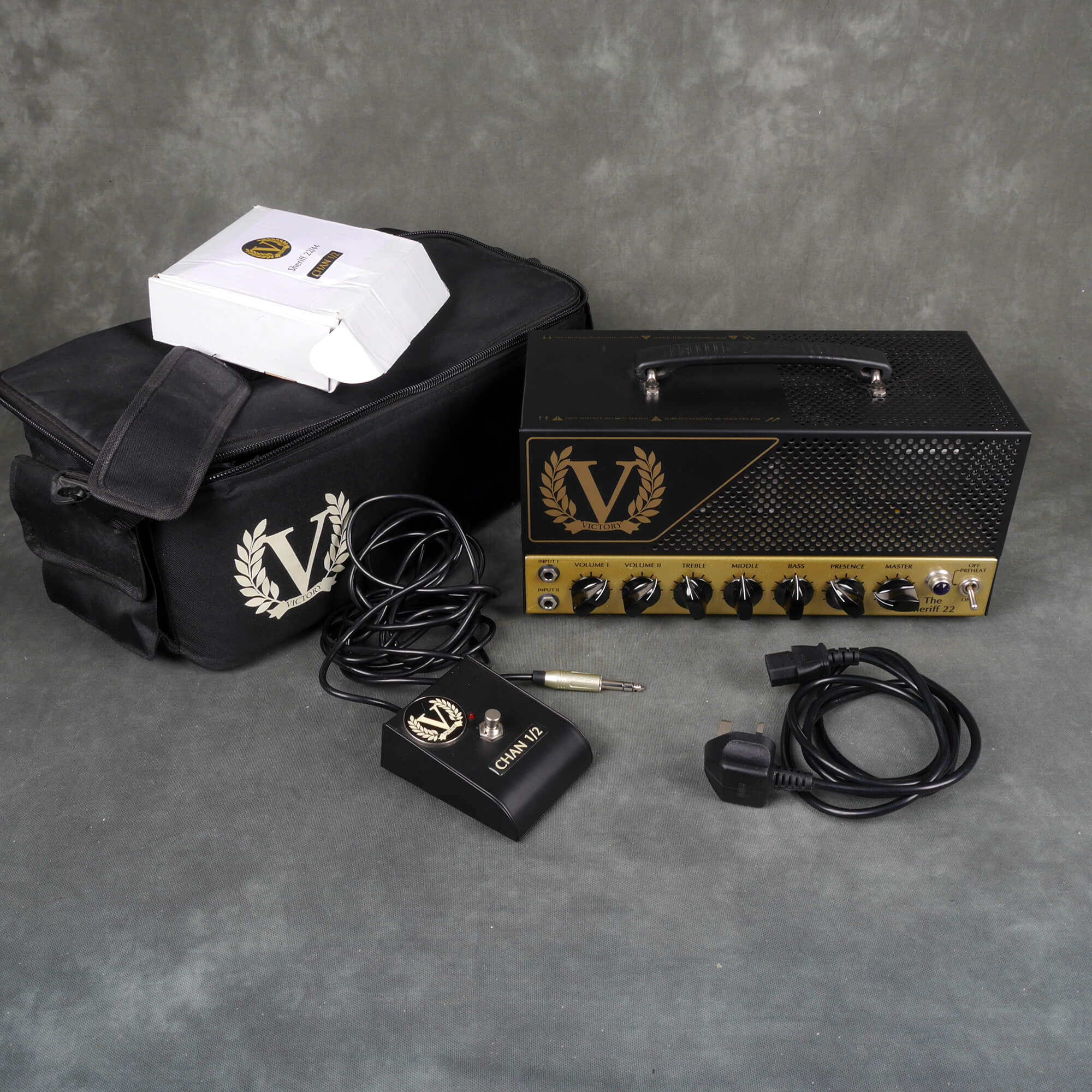 Victory The Sheriff 22 Valve Amp Head w/Gig Bag - 2nd Hand **COLLECTION ONLY**