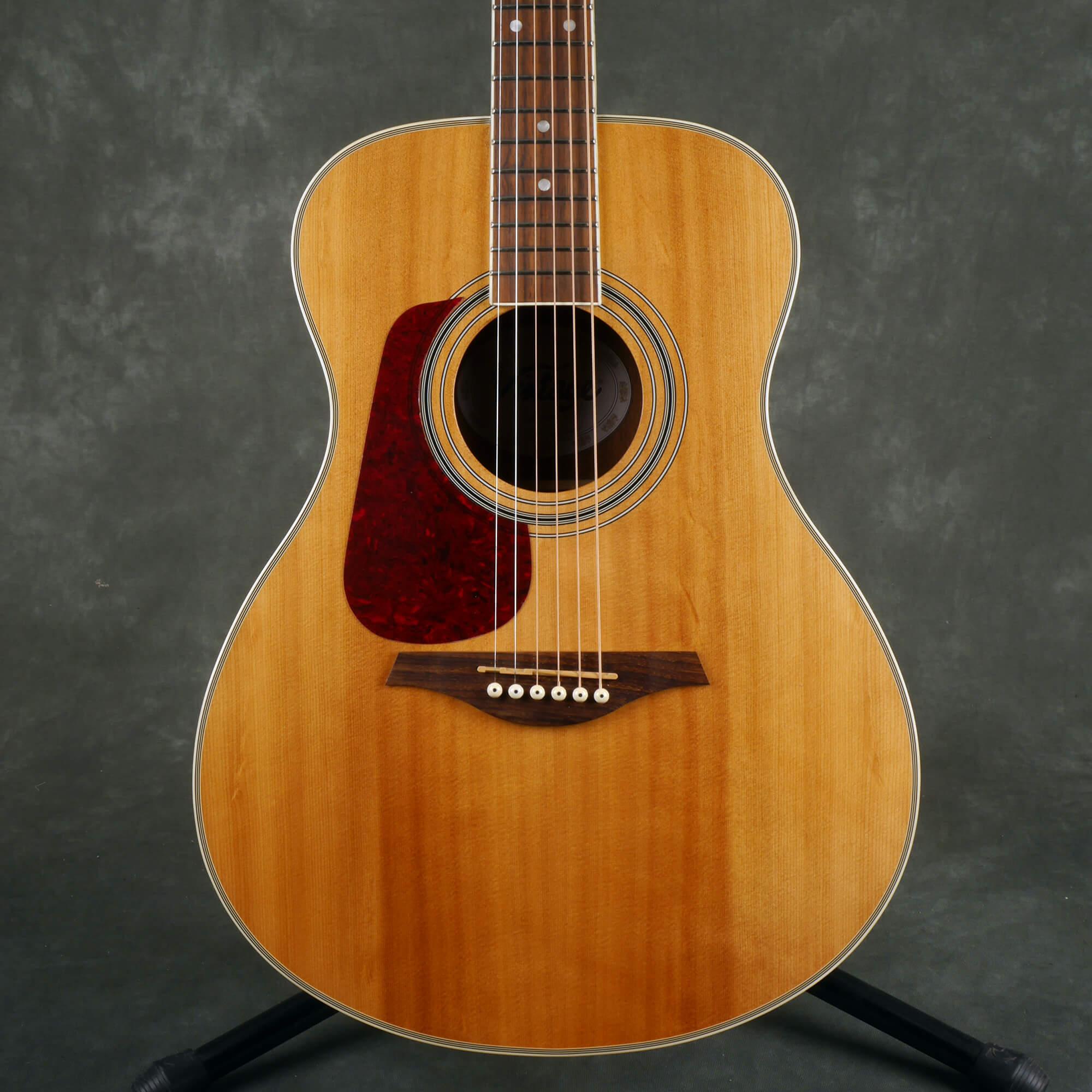 Vintage LH-V300 Left Hand Acoustic Guitar - Natural - 2nd Hand