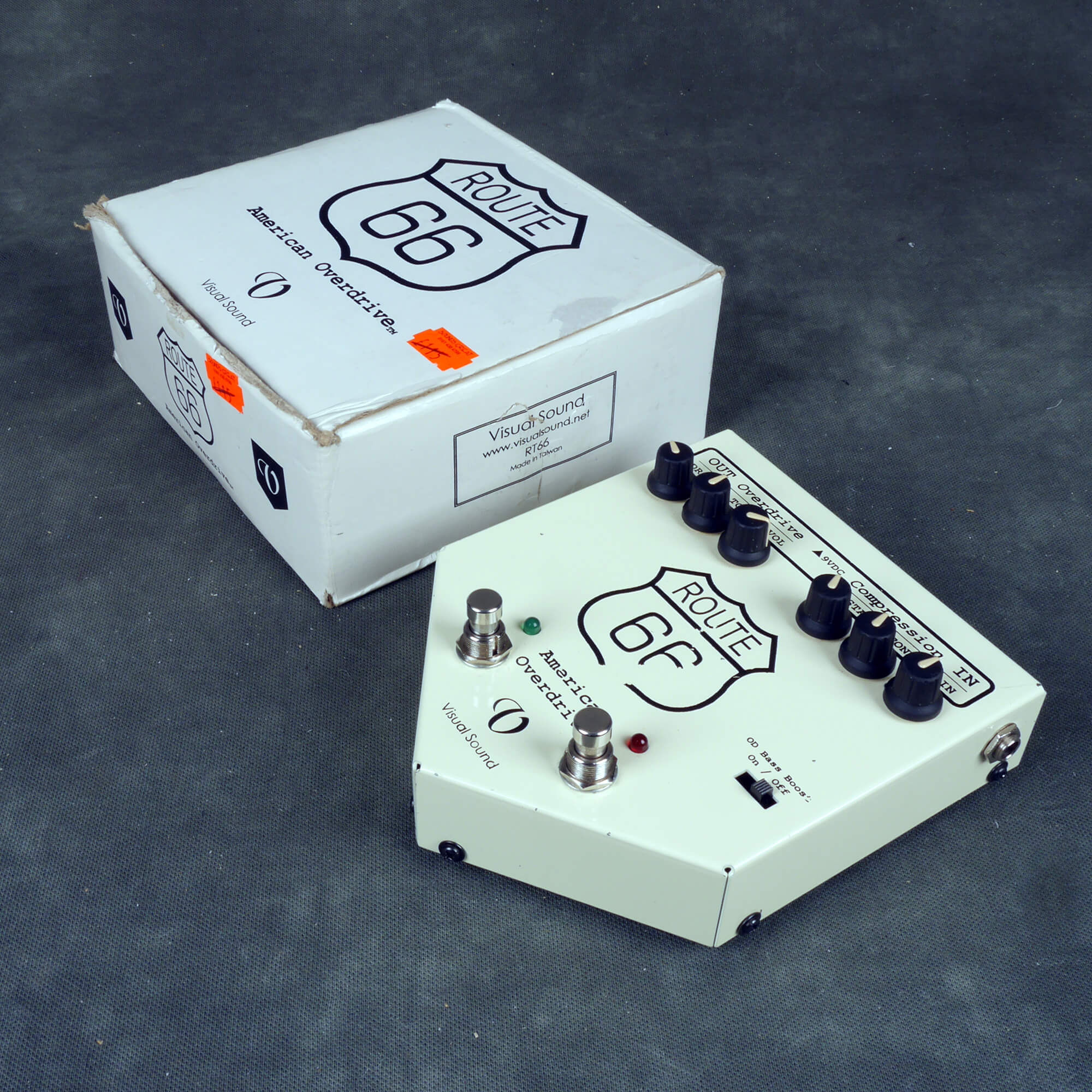 Visual Sound Route 66 Overdrive FX Pedal w/Box - 2nd Hand