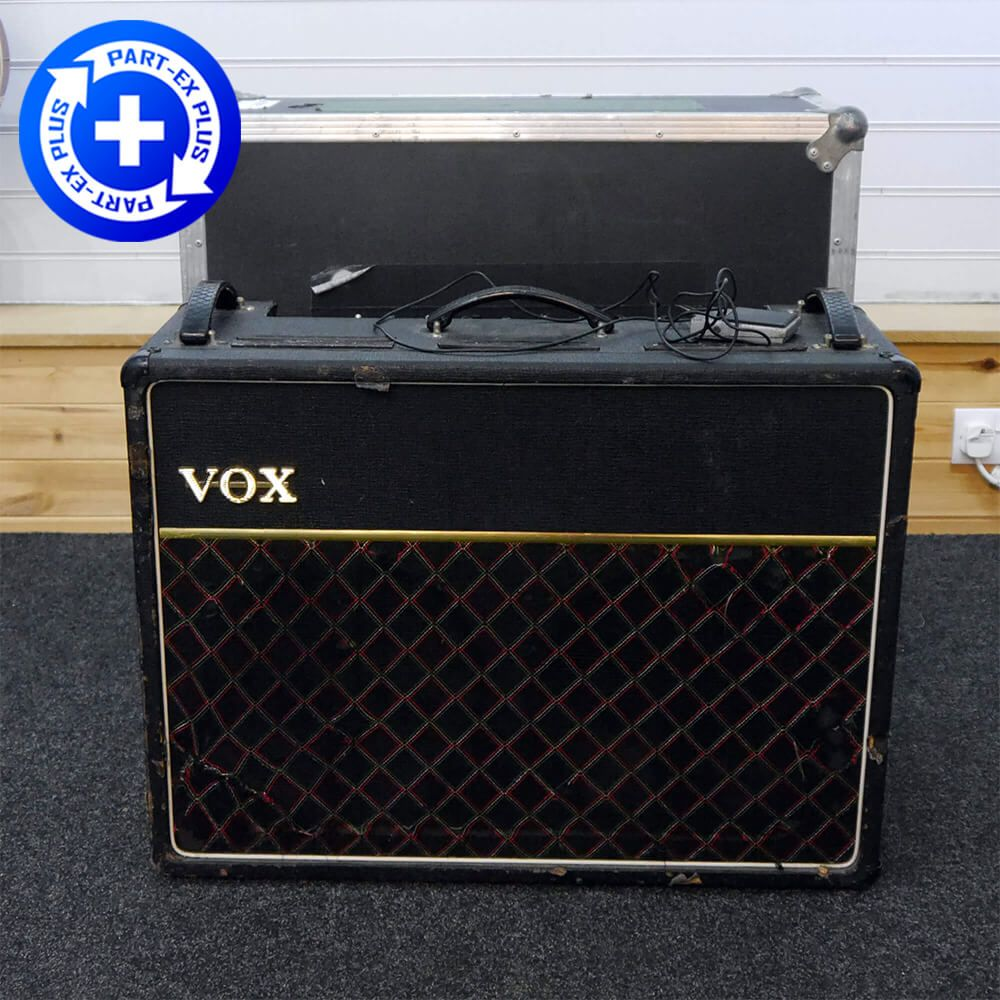 Vox 1974 AC30 Valve 2x12 Combo Amp w/Flight Case - 2nd Hand **COLLECTION ONLY**