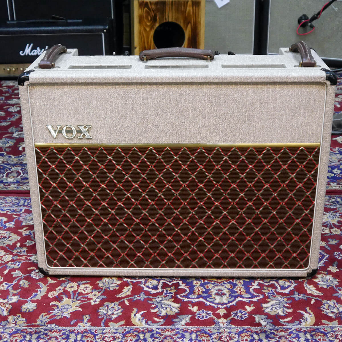 Vox AC30 1970s Combo Amp - Cream (Re-Cabbed) - 2nd Hand **COLLECTION ONLY**