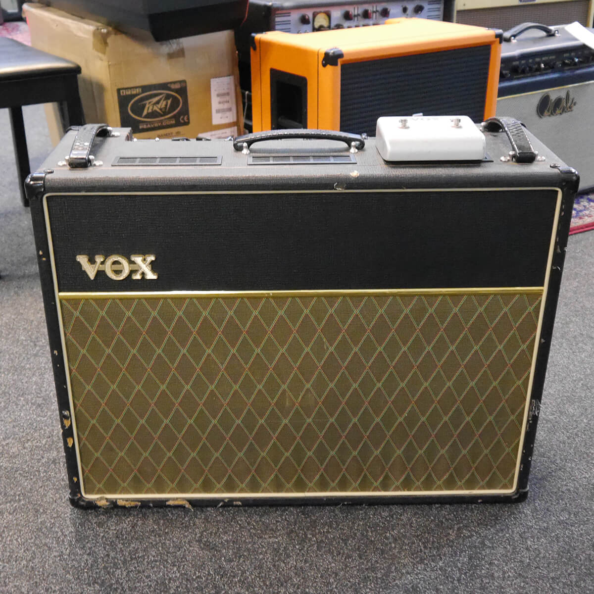 Vox AC30CC2 Valve Combo & Footswitch - 2nd Hand **COLLECTION ONLY**
