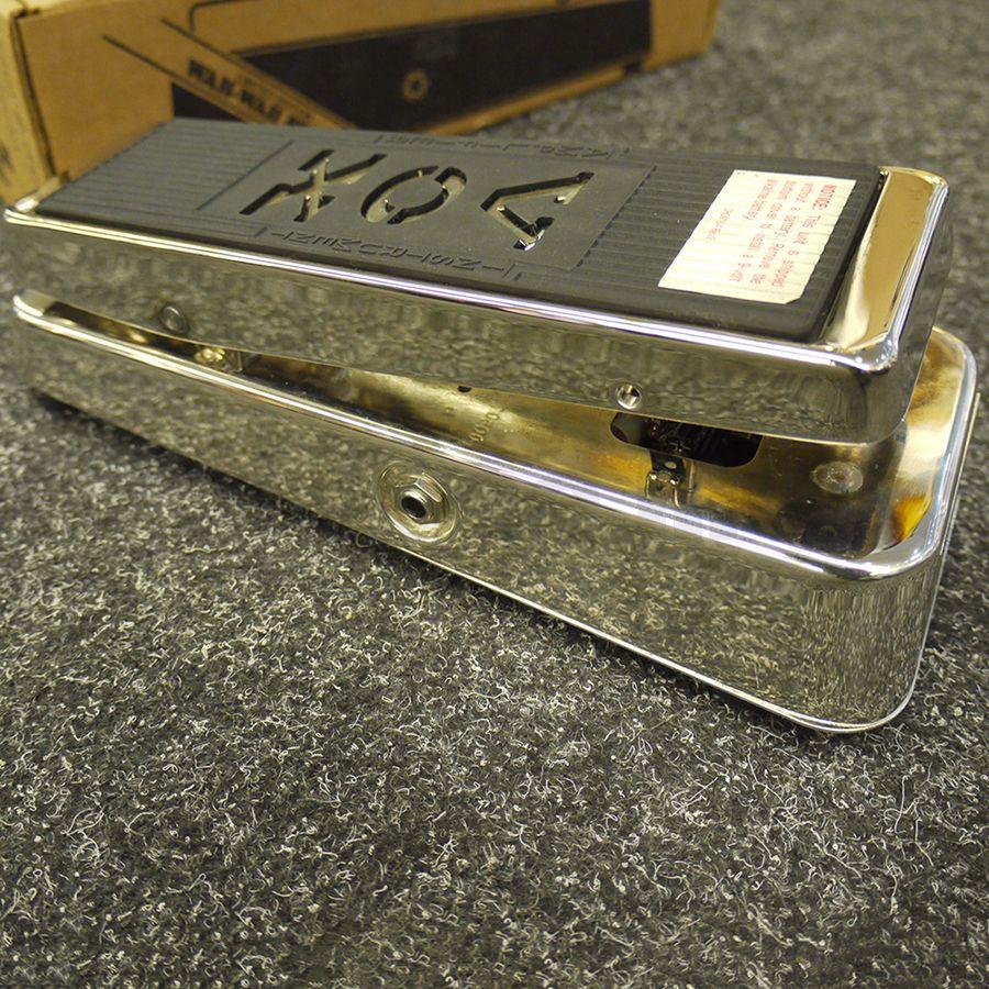 Vox Ltd. Ed V847 Wah Chrome FX Pedal - 2nd Hand