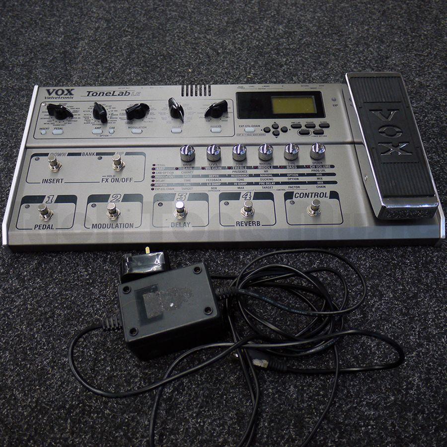 Vox Tonelab LE Multi Effect FX Pedal w/ Manual & PSU - 2nd Hand