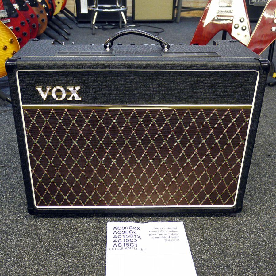 vox ac15c1 guitar amplifier 2nd hand rich tone music. Black Bedroom Furniture Sets. Home Design Ideas
