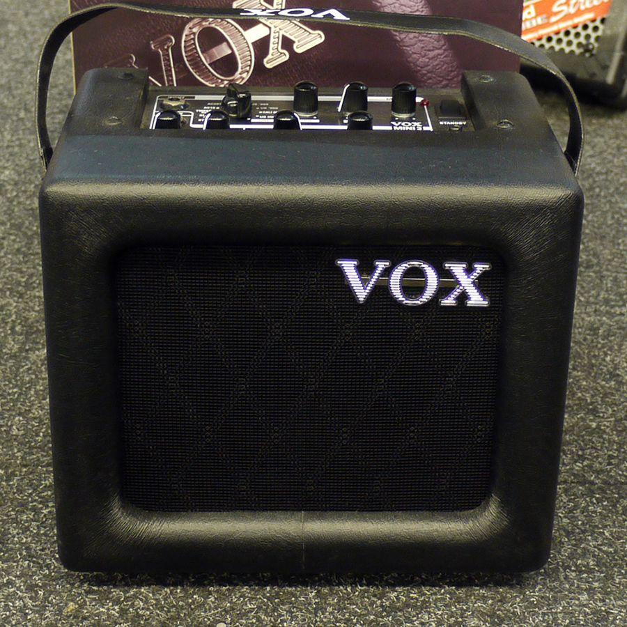 vox mini 3 modelling guitar amplifier w box 2nd hand rich tone music. Black Bedroom Furniture Sets. Home Design Ideas