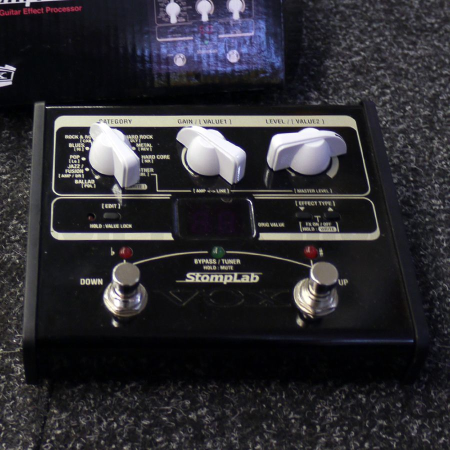 Vox StompLab IG Multi Effects Pedal w/ Box - 2nd Hand