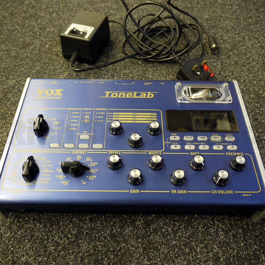 Vox Tonelab LE Guitar Multi Effects Pedal w/ PSU - 2nd Hand