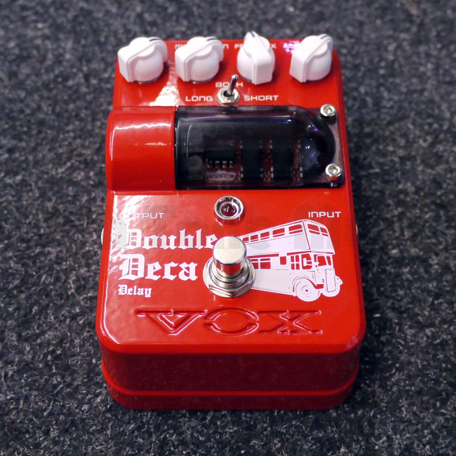 Vox Tone Garage Double Deca Delay FX Pedal - 2nd Hand