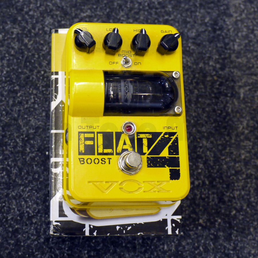 Vox Tone Garage Flat 4 Booster FX Pedal w/ Box - 2nd Hand