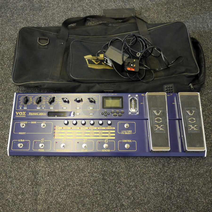 Vox ToneLab SE Tube Driven Multi-Effects Pedal w/ Bag - 2nd Hand
