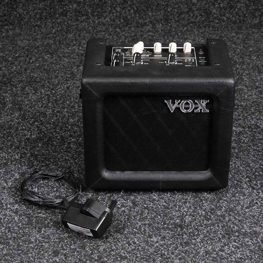 vox mini3 g2 mini amp black 2nd hand rich tone music. Black Bedroom Furniture Sets. Home Design Ideas