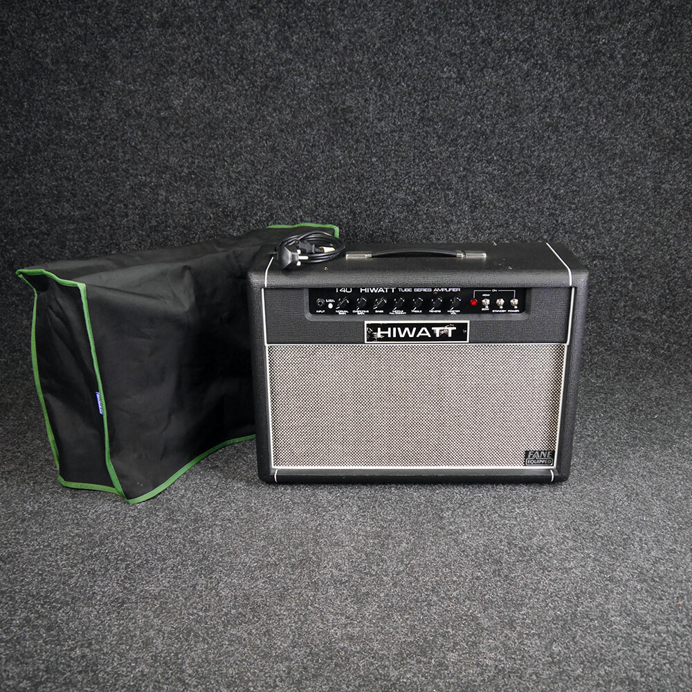Hiwatt T40 2x12 Combo Amp w/Soft Case **COLLECTION ONLY** - 2nd Hand