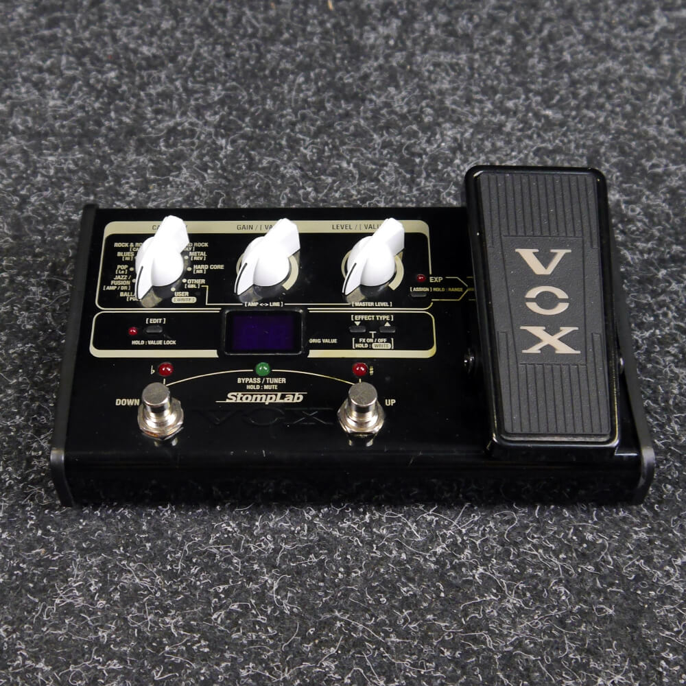 Vox StompLab IIG Modelling Guitar Mutli-Effects Pedal - 2nd Hand