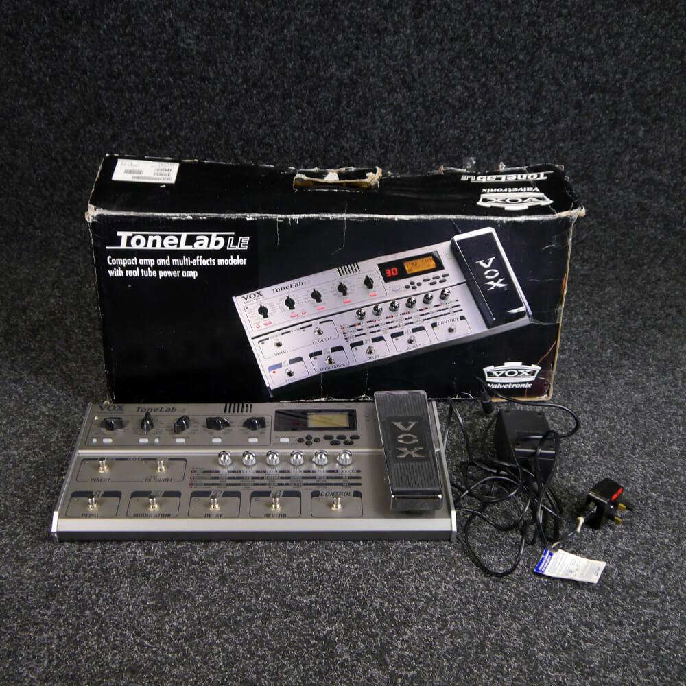 Vox Tonelab LE Multi Effects Processor w/Box & PSU - 2nd Hand