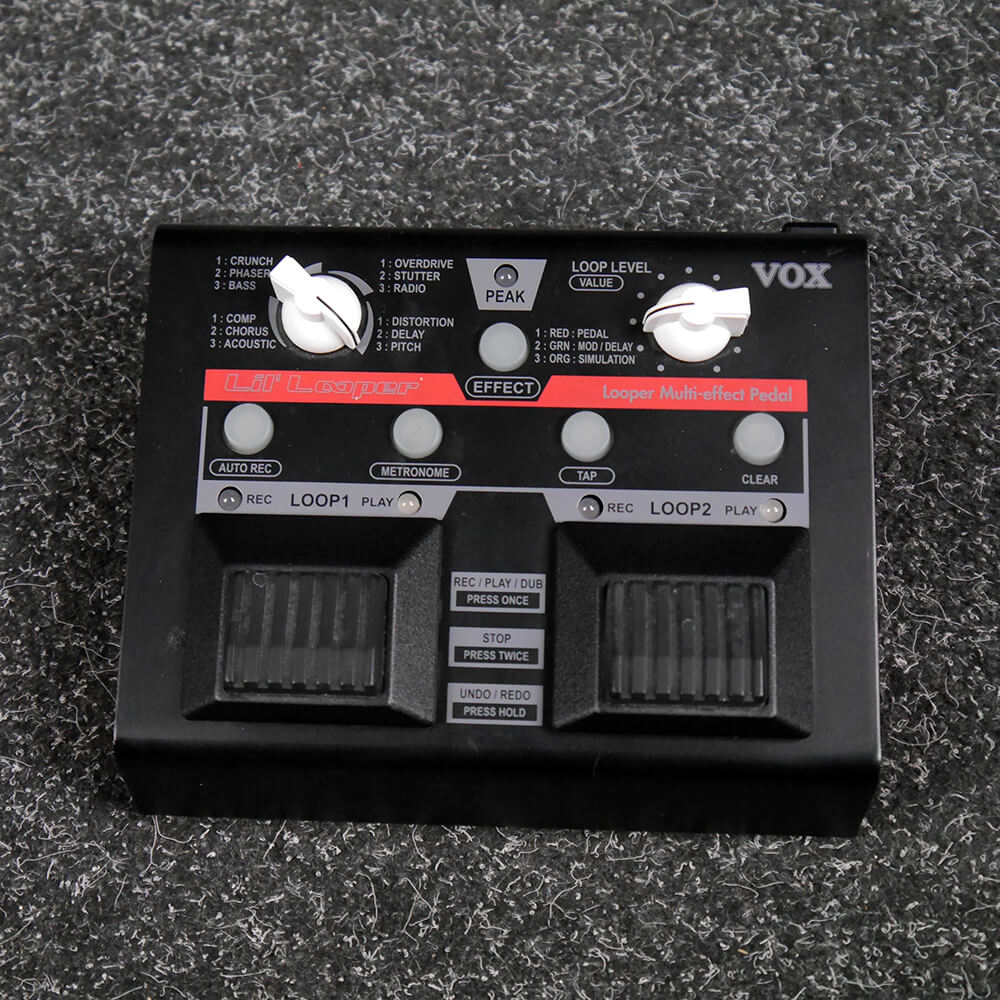 Vox Lil' Looper Multi FX Pedal - 2nd Hand