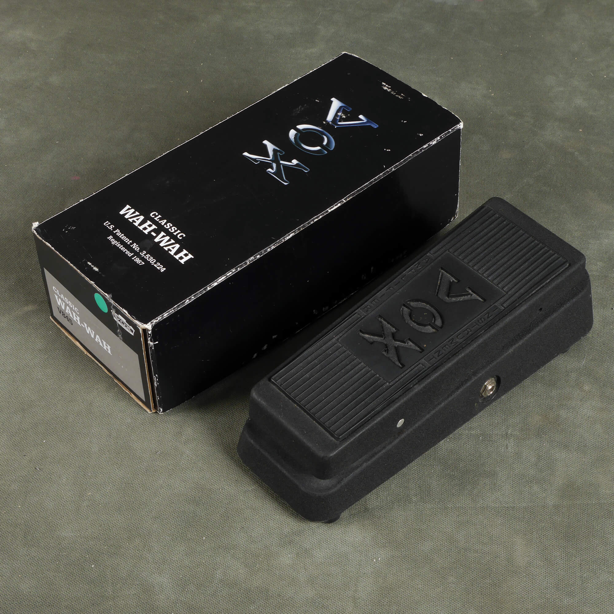 Vox V845 Classic Wah Wah FX Pedal w/Box - 2nd Hand