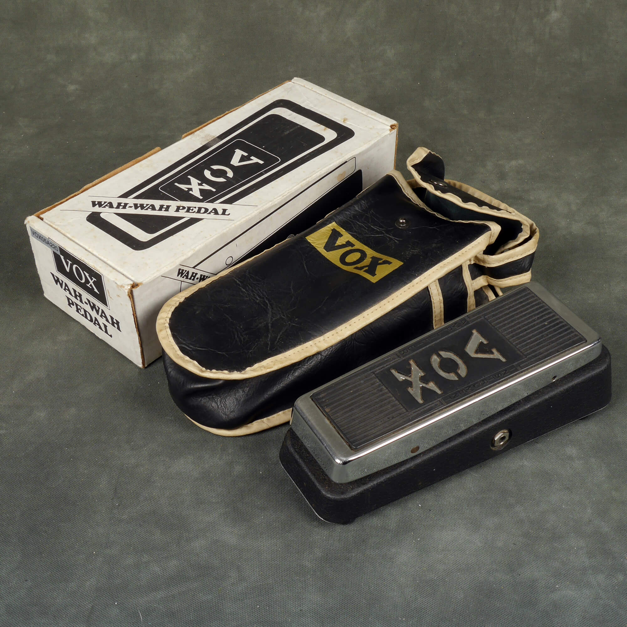 Vox V847 USA Made Wah Pedal w/Box - 2nd Hand
