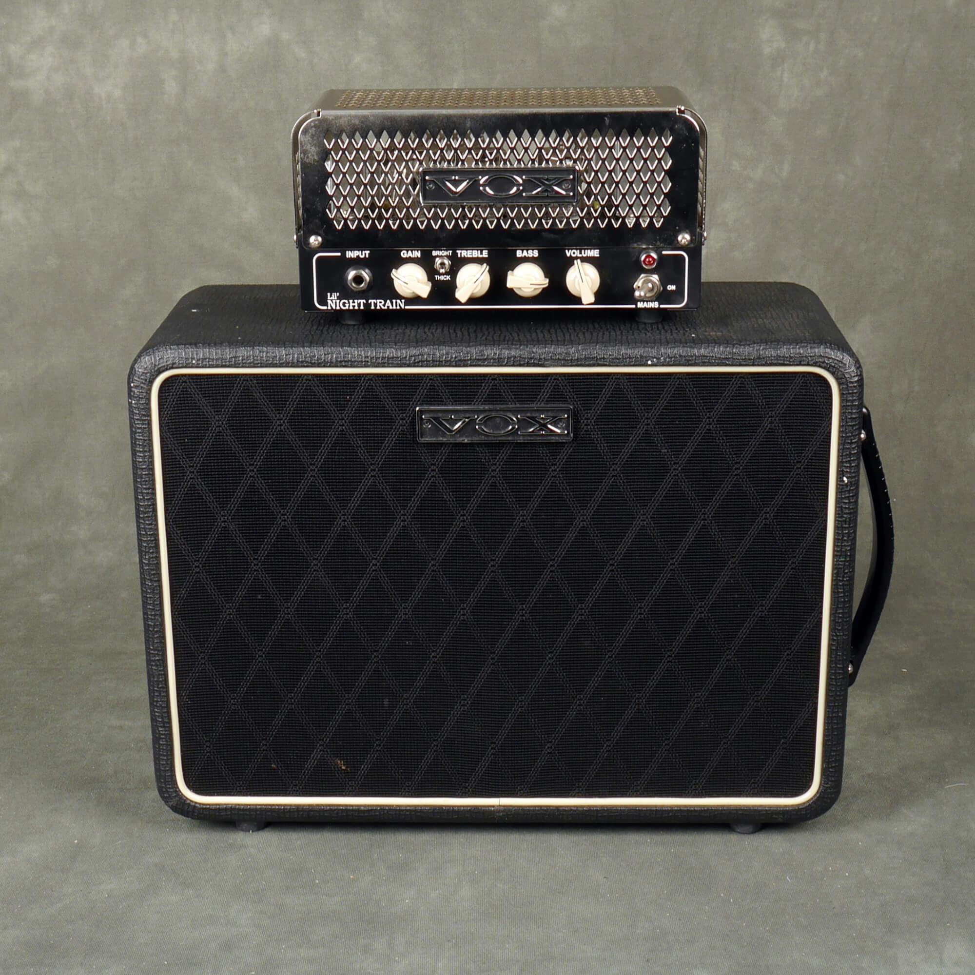 Vox Lil Nighttrain Amplifier Head & V110NT Speaker Cab - 2nd Hand