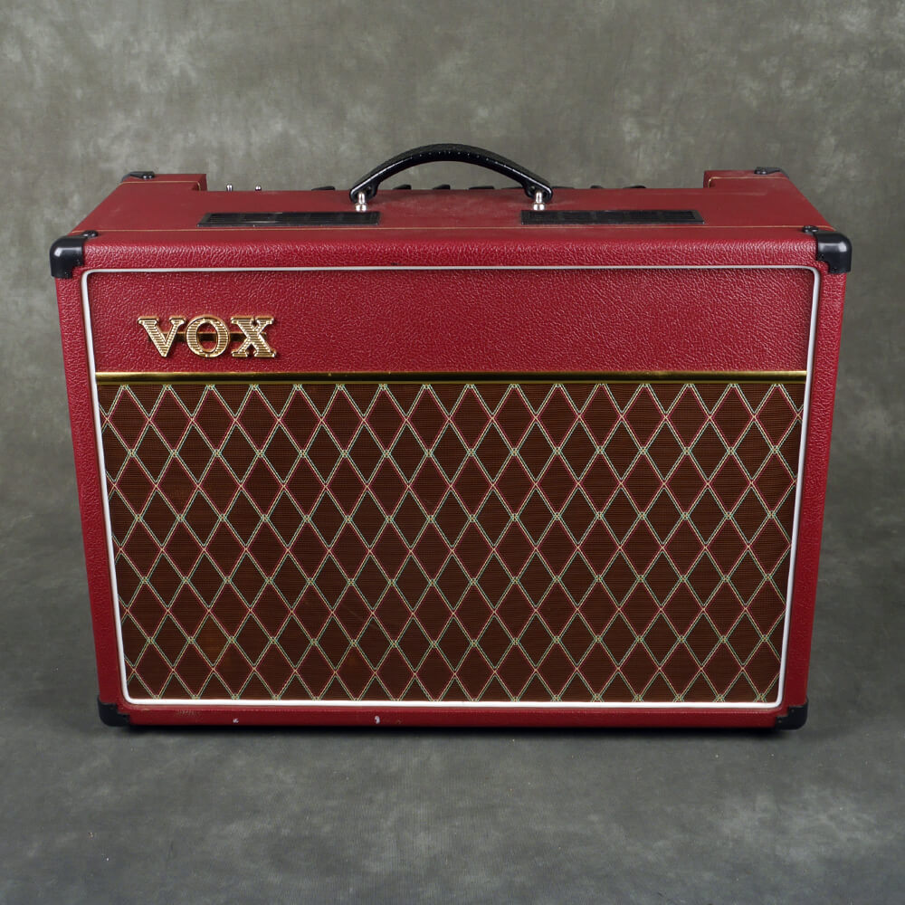 Vox AC15C1 Limited Edition Maroon Bronco - 2nd Hand **COLLECTION ONLY**