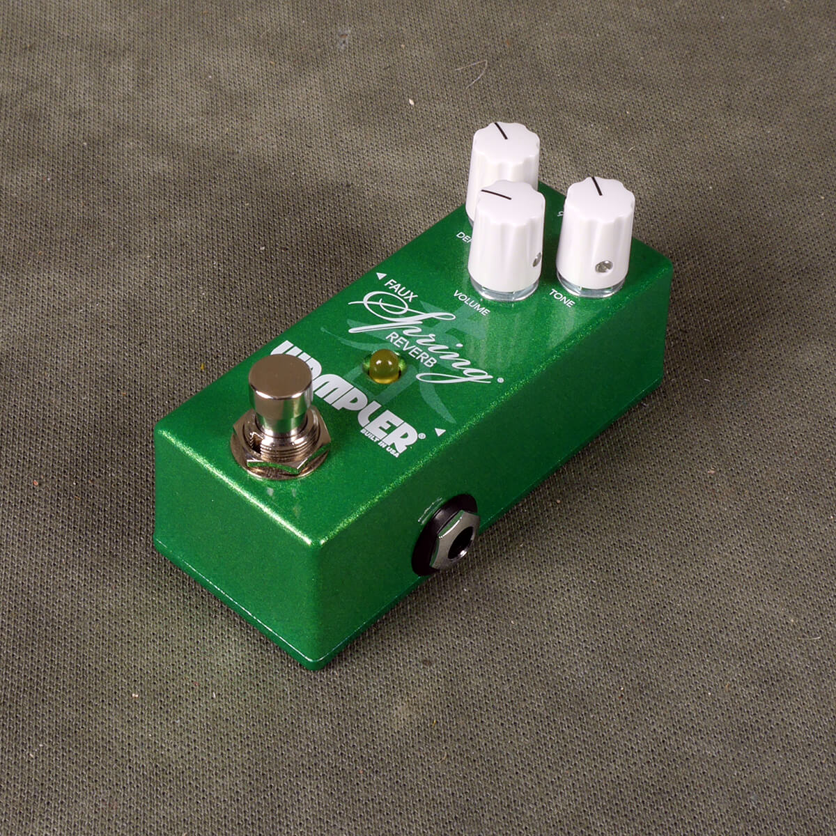 Wampler Mini Faux Spring Reverb FX Pedal - 2nd Hand