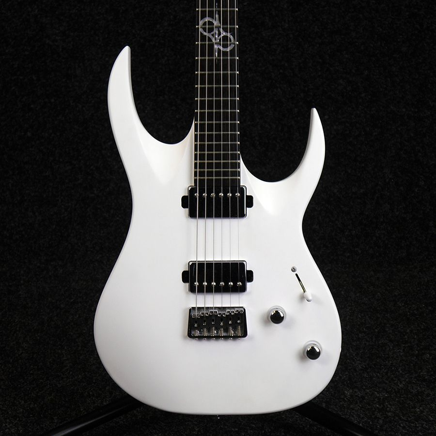 washburn parallaxe solar 160 electric guitar white 2nd hand rich tone music. Black Bedroom Furniture Sets. Home Design Ideas