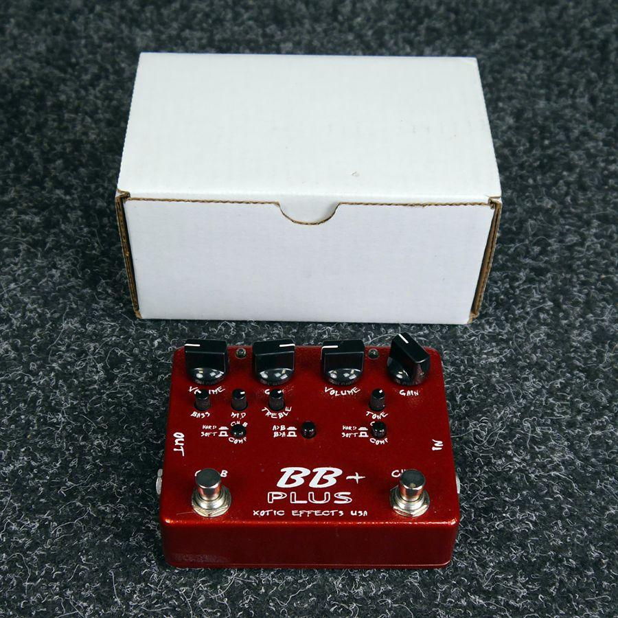 Xotic BB Plus FX Pedal w/ Box - 2nd Hand