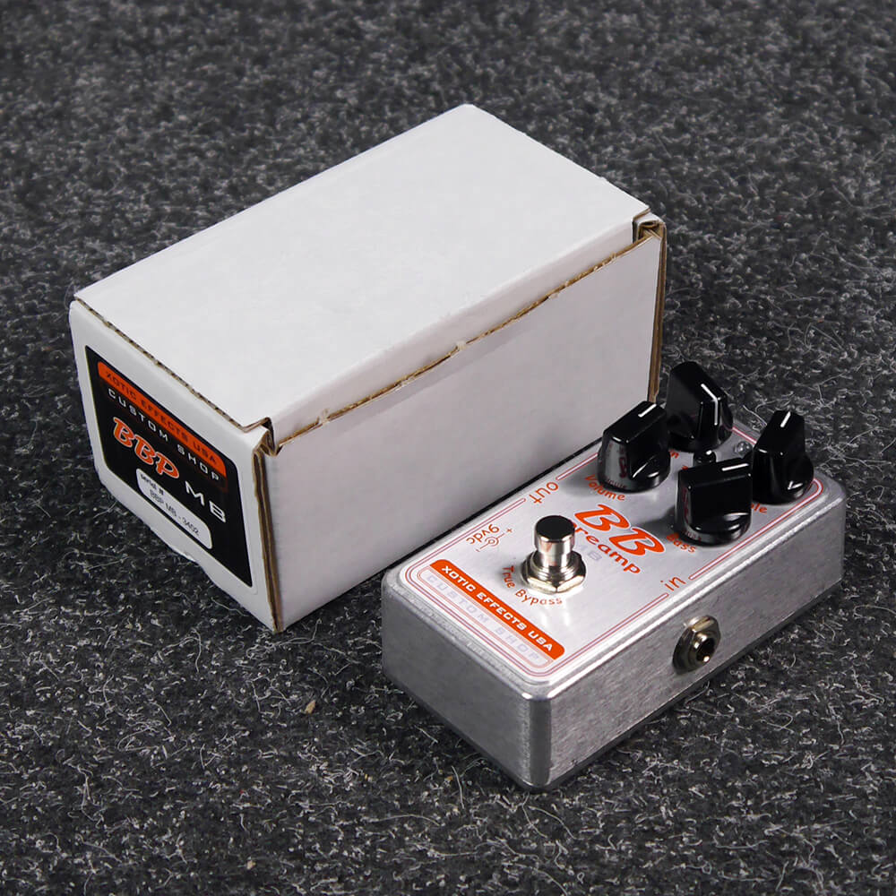 Xotic Effects BBP-MB Preamp FX Pedal w/Box - 2nd Hand