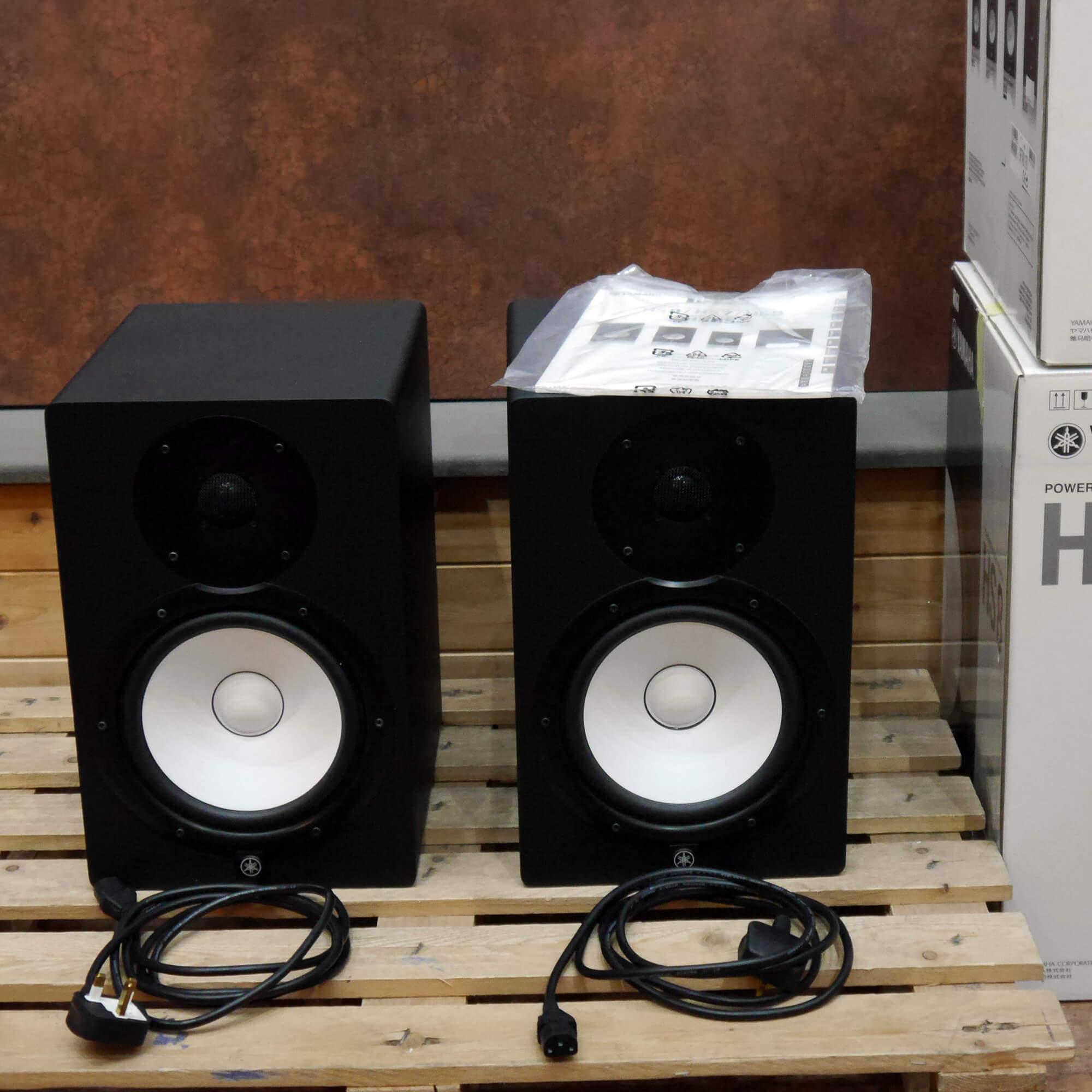 Yamaha HS8 Powered Studio Monitors - Pair - Black w/Box - 2nd Hand