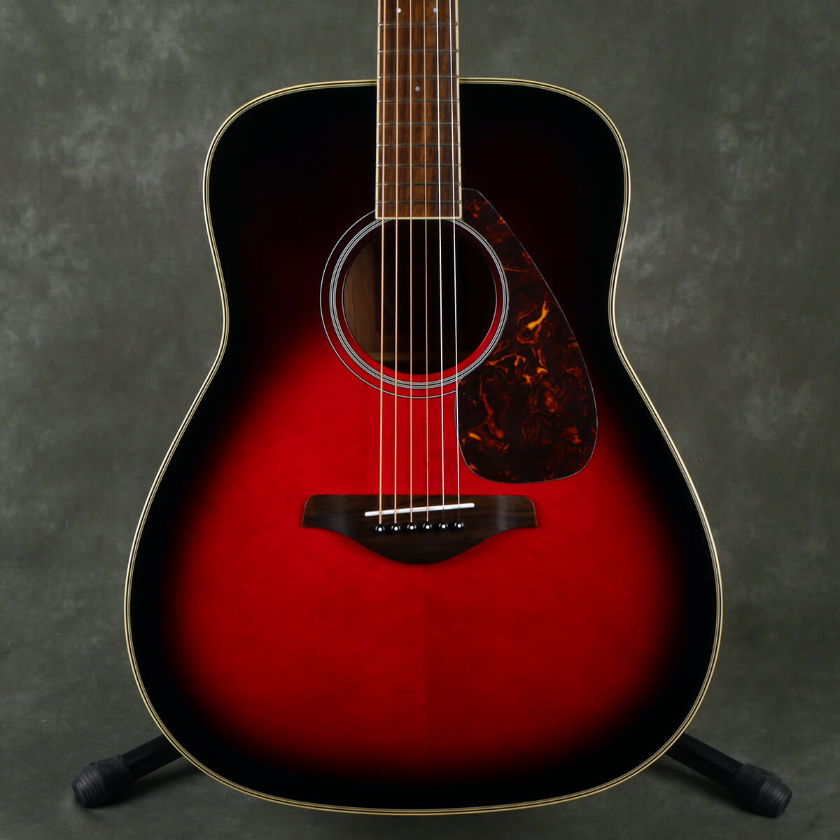 Yamaha FG720S Solid Top Acoustic Guitar - Dusk Sun Red - 2nd Hand