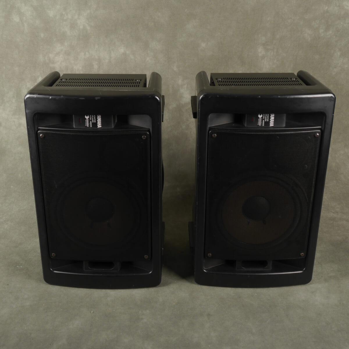 Yamaha Powered Speakers MS60S - Pair - 2nd Hand