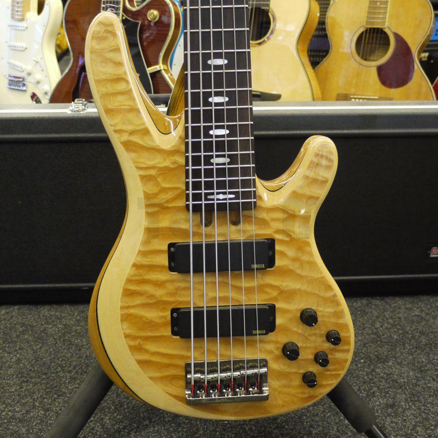 Yamaha trb1006j 6 string bass case 2nd hand rich for Yamaha 6 string bass