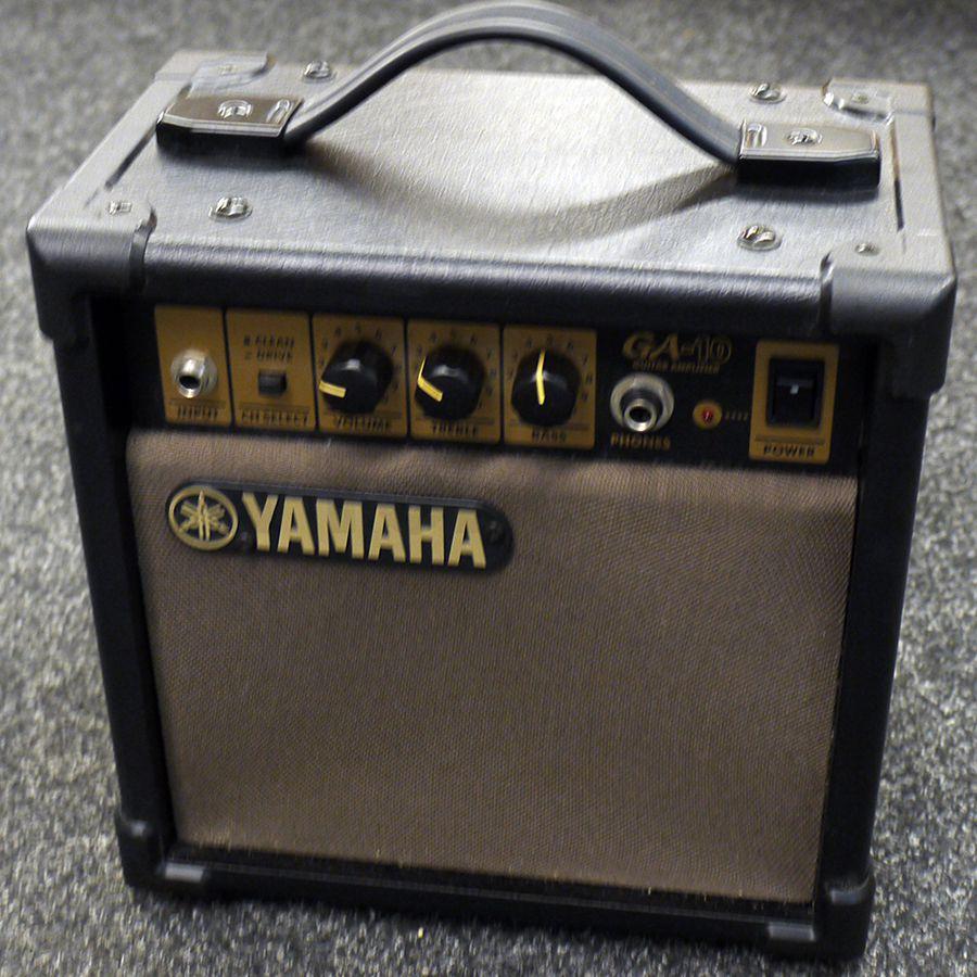 yamaha ga10 practice guitar amp 2nd hand rich tone music. Black Bedroom Furniture Sets. Home Design Ideas