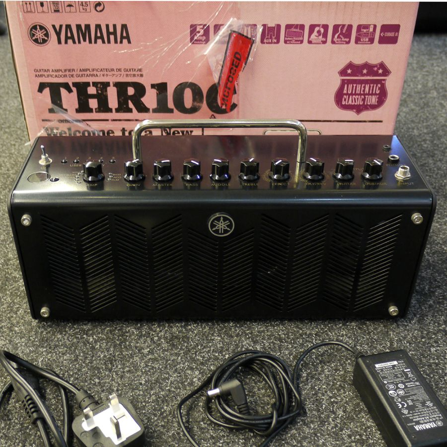 Yamaha thr10c amp head w box 2nd hand rich tone music for Yamaha thr10 pedals