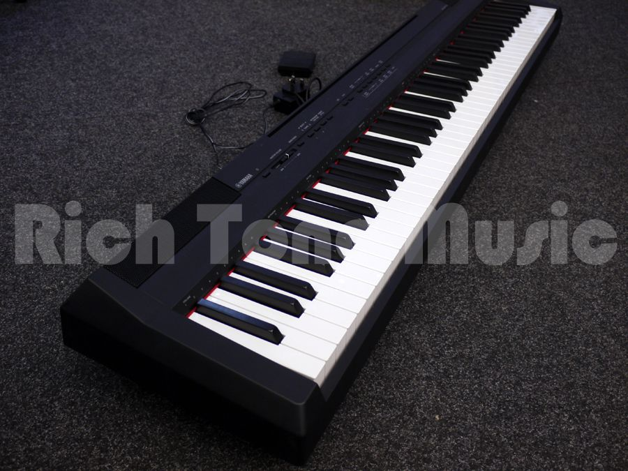 yamaha p 105 88 key digital stage piano 2nd hand rich. Black Bedroom Furniture Sets. Home Design Ideas