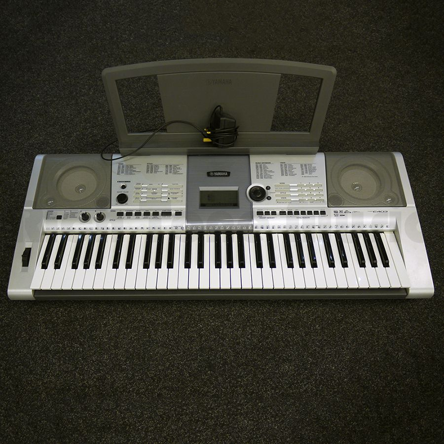 yamaha psr e403 portable keyboard 2nd hand rich tone music. Black Bedroom Furniture Sets. Home Design Ideas