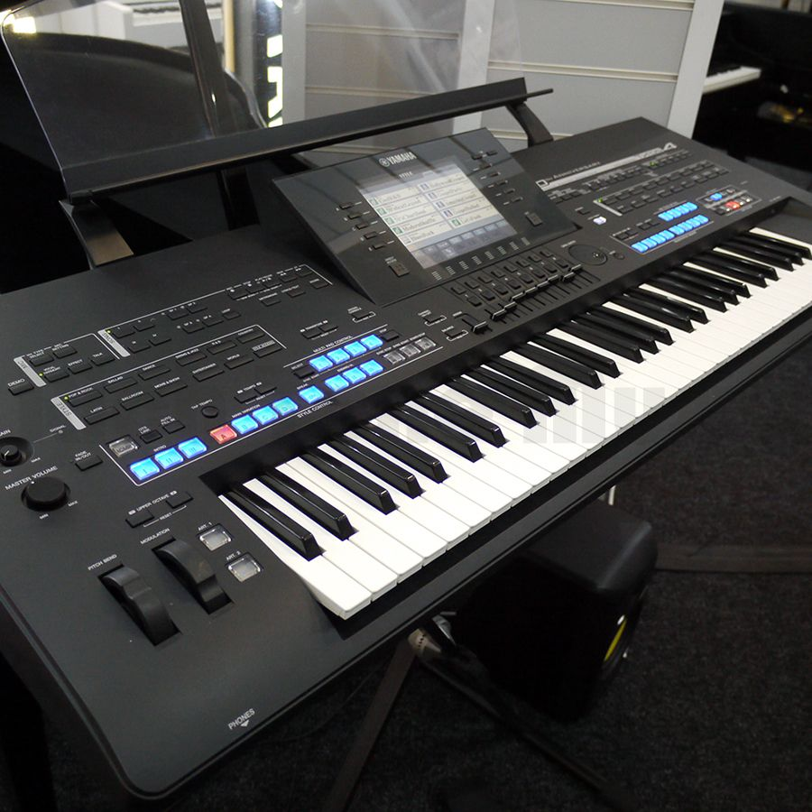 yamaha tyros 4 arranger workstation w speaker pack 2nd. Black Bedroom Furniture Sets. Home Design Ideas