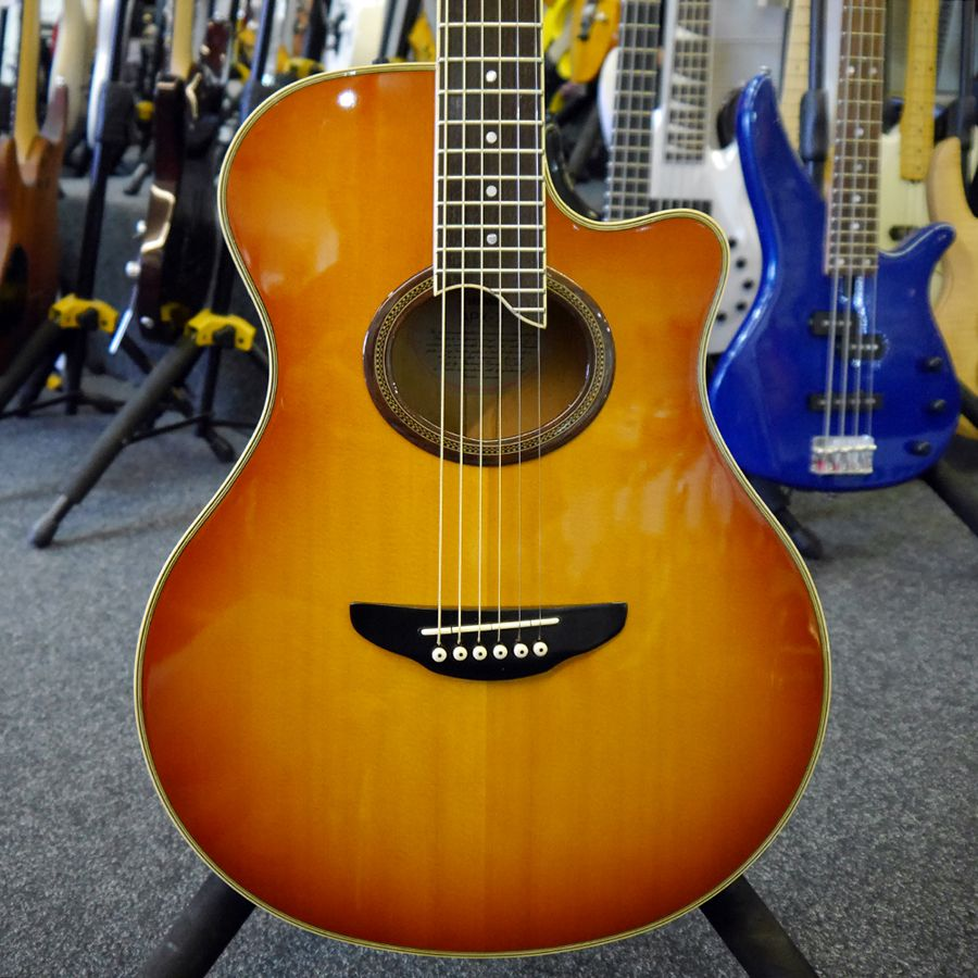 Yamaha apx 7 acoustic guitar collection only 2nd hand for Apx guitar yamaha