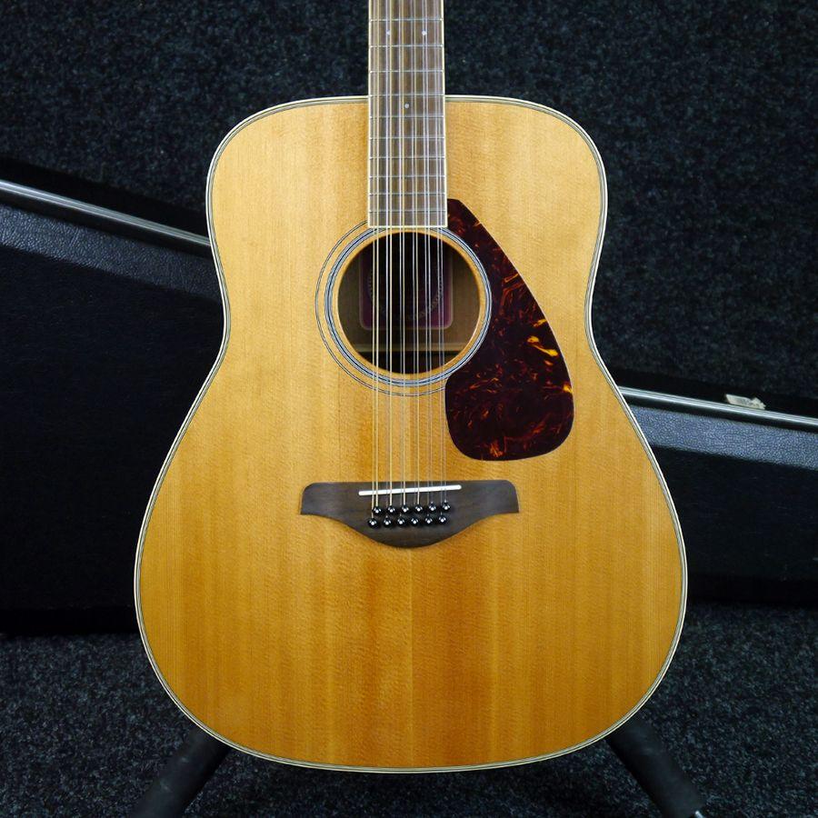 Yamaha fg720s 12 12 string acoustic guitar w hard case for Yamaha reface hard case
