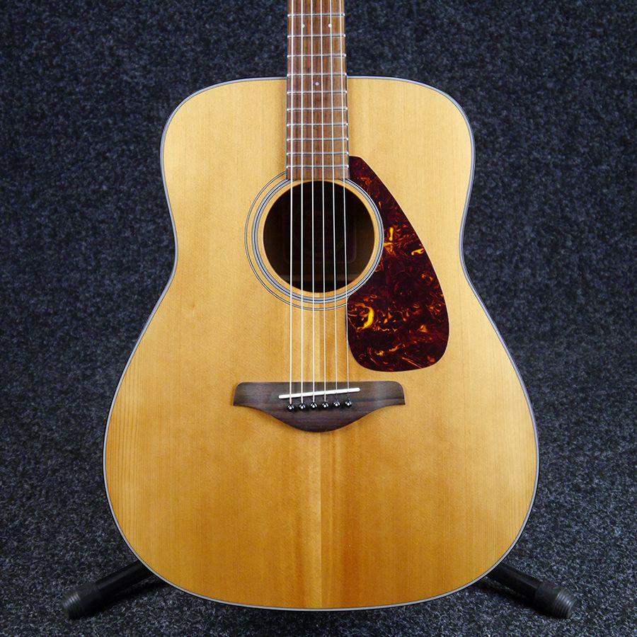 yamaha fg700s folk acoustic guitar natural 2nd hand rich tone music. Black Bedroom Furniture Sets. Home Design Ideas