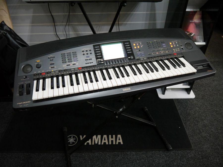 yamaha psr 8000 workstation arranger keyboard no floppy. Black Bedroom Furniture Sets. Home Design Ideas