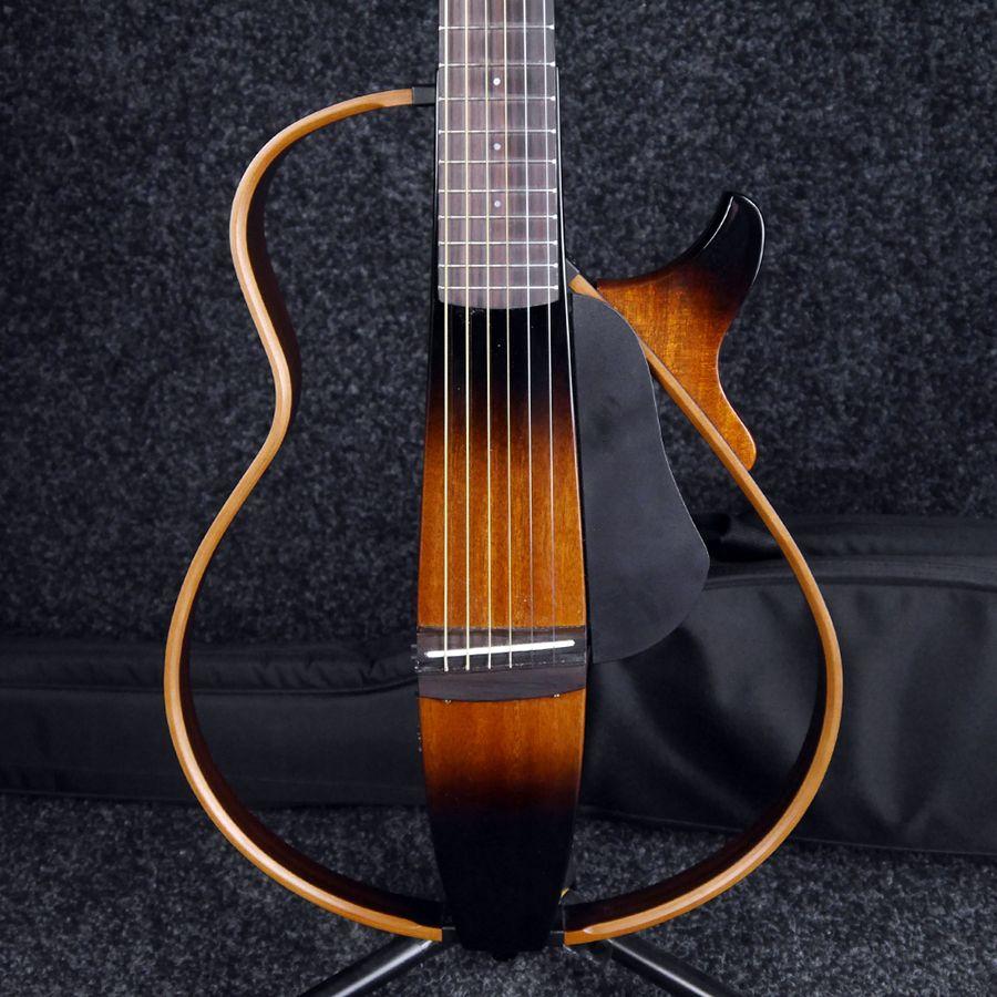 Yamaha slg200s steel string silent guitar w soft case for Yamaha slg200s steel string silent guitar